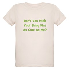 Baby Cute As Me - Green T-Shirt