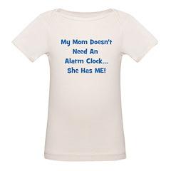 Mommy's Alarm Clock - Blue Tee