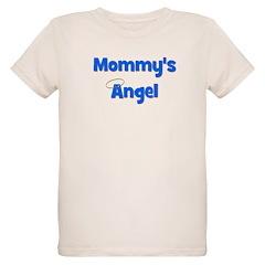 Mommy's Angel - Blue Organic Kids T-Shirt
