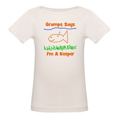 Gramps Says I'm A Keeper Tee