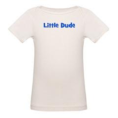 Little Dude - Blue Tee