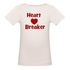 Heart Breaker with heart Tee