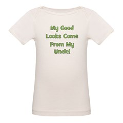 Good Looks From Uncle - Green Tee