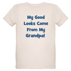 Good Looks From Grandpa - Blu T-Shirt