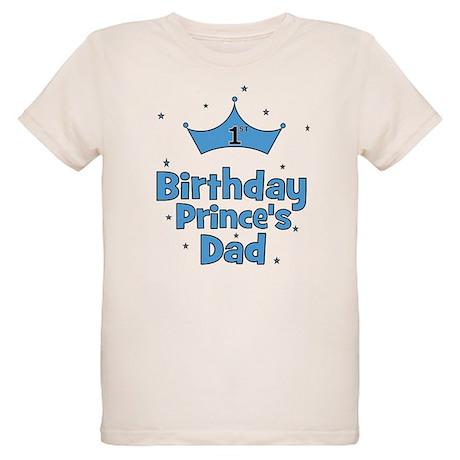 Custom 1st birthday prince 39 organic kids t shirt custom for Organic custom t shirts