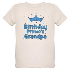 1st Birthday Prince's Grandpa T-Shirt