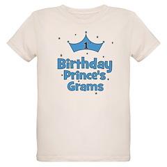 1st Birthday Prince's Grams! Organic Kids T-Shirt