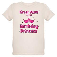 Great Aunt of the 1st Birthda T-Shirt
