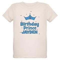 1st Birthday Prince - Jayden T-Shirt