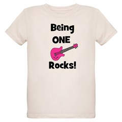 Being ONE Rocks! pink T-Shirt