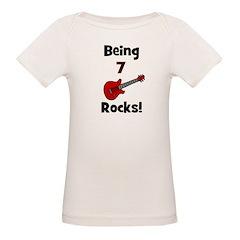 Being 7 Rocks! Guitar Tee