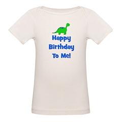 Happy Birthday To Me! Dinosau Tee