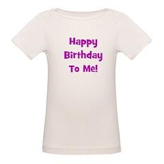 Happy Birthday To Me! Purple Tee
