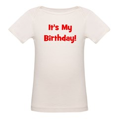 It's My Birthday! Red Tee