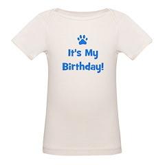 It's My Birthday - Blue Paw Tee