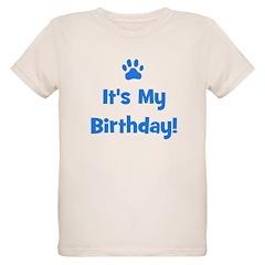 It's My Birthday - Blue Paw T-Shirt