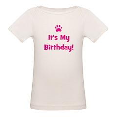 It's My Birthday - Pink Paw Tee