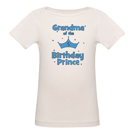 Grandma of the 5th Birthday P Organic Baby T-Shirt