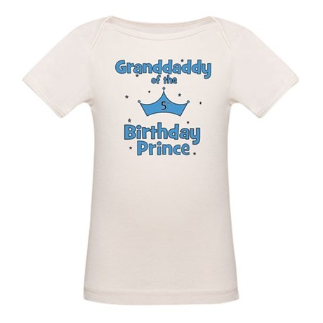 Granddaddy of the 5th Birthda Organic Baby T-Shirt