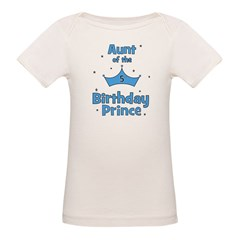 Aunt of the 5th Birthday Prin Tee