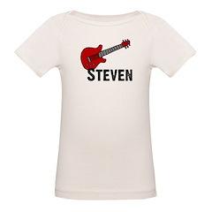 Guitar - Steven Organic Baby T-Shirt