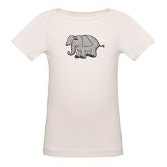 Elephant Animal Design Tee