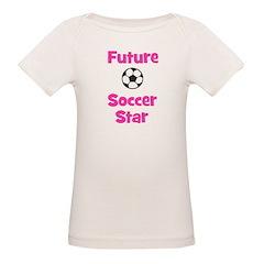 Future Soccer Star (pink) Tee