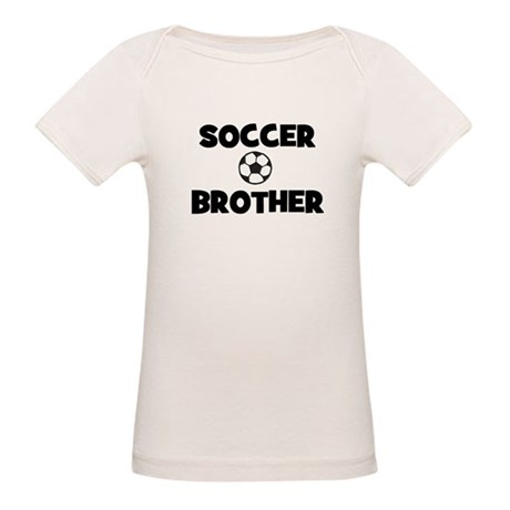 Soccer Brother Organic Baby T-Shirt