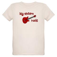 Big Sisters Rock! red guitar T-Shirt