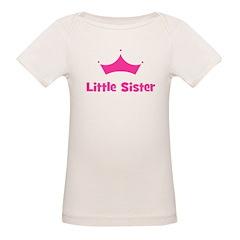 Little Sister Princess Crown Tee