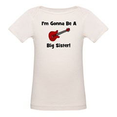 Gonna Be A Big Sister (guitar Tee