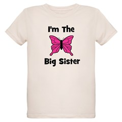 I'm The Big Sister (butterfly T-Shirt