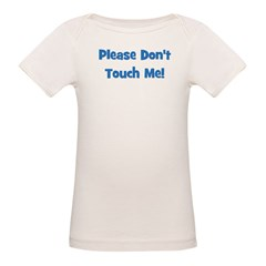 Please Don't Touch! Blue Tee