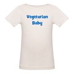 Vegetarian Baby - Multiple Co Organic Baby T-Shirt