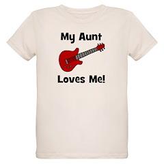 My Aunt Loves Me! w/guitar T-Shirt