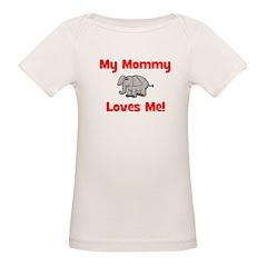 My Mommy Loves Me! w/elephant Tee