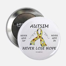 "Autism Hope 2.25"" Button"