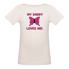 Butterfly - My Daddy Loves Me Tee