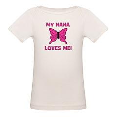 Butterfly - My Nana Loves Me! Tee