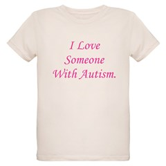 I Love Someone With Autism (p T-Shirt