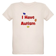 I Have Autism (red) T-Shirt
