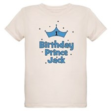 1st Birthday Prince Jack T-Shirt