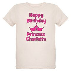 Happy Birthday Princess Charl T-Shirt