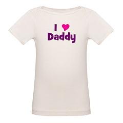 I love (heart) Daddy Tee