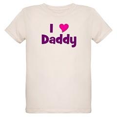I love (heart) Daddy T-Shirt