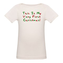 This Is My Very First Christm Organic Baby T-Shirt
