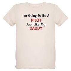 Pilot Daddy Profession T-Shirt