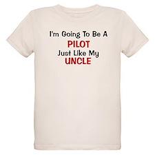 Pilot Uncle Profession T-Shirt