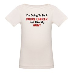Police Officer Aunt Professio Tee
