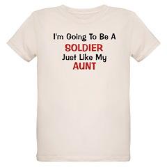 Solider Aunt Profession T-Shirt